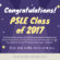 Congratulations PSLE Class of 2017!